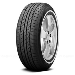 Hankook Set Of 4 Tires P215/75r15 S Optimo H724 W White Wall Fuel Efficient