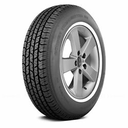 Cooper Set Of 4 Tires P205/75r15 S Trendsetter Se W White Wall Fuel Efficient