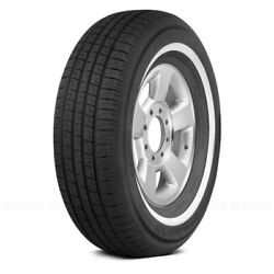 Ironman Set Of 4 Tires 205/75r15 S Rb-12 Nws W White Wall Fuel Efficient