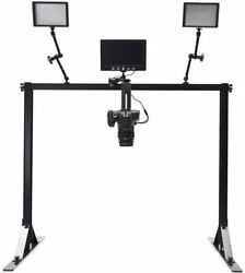 Glide Gear Oh 100 Overhead Flat Lay Video Camera Photo Pole Rig Mount System