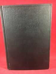 The Scofield Reference Edition The Holy Bible Oxford Vintage Antique 1945 Book