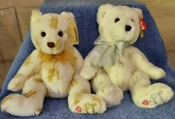 Ty Classic Stardust And Moondust Teddy Bears Harrods Uk Exclusives Mwmts