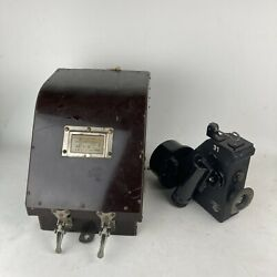 Wwii Bubble Sextant Mk Ix With Case For Parts Only