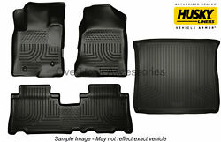 Weatherbeater Floor Mats W/cargo Trunk Liner For 14-15 Honda Civic 4dr No Hybrid