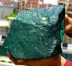 Expedited Shipping 30000ct Green Emerald Natural Gemstone Huge Rough Big Offer