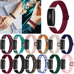For Fitbit Inspire Hr 2 Replacement Band Bohemia Woven Nylon Elastic Strap Band