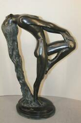 1979 Sultry Awakening Nude Sculpture By Klara Sever Austin Productions 22