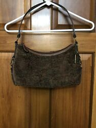 fossil tapestry purse
