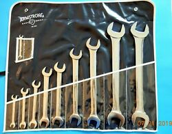Vintage Nos Armstrong Armaloy Sae 10pc Wrench Set 29-362 Usa Discontinued New