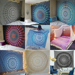 Large Tapestry Wall Hanging Home Hippie Mandala Psychedelic Bedspread Poster Mat