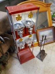 Antique Beaver Candy And Toy Machine