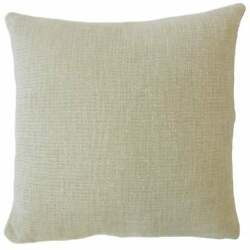 Feivel Solid Throw Pillow Dove
