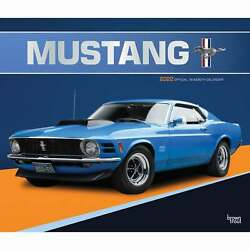 Mustang Deluxe Calendar 2022 - Transport - Month To View
