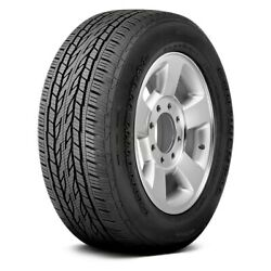 Continental Set Of 4 Tires 255/55r20 H Crosscontact Lx20 Truck / Suv