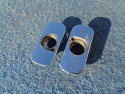 1957 57 Ford Fairlane 500 Skyliner Rectract Top Pin Guides Pair