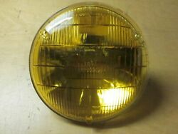 Amber Sealed Beam 4001 For Cars Circa 50's 60's