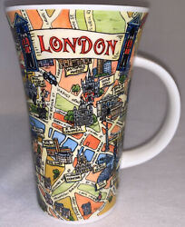 Dunnon Mug Cup Tour Of London Icons Fine Bone China Made In England Htf