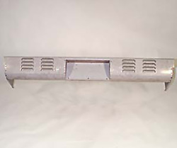 Rear Roll Pan Chevy 1967 - 1987 Chevrolet Gmc Stepside Louvres 4 Rows Box Truck