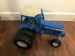 Ford Tw 20 Farm Toy Dual Back Wheels 1/12 Ertl Tractor - Cracked Roof