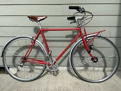 Collectible Very Early Ira Ryan City Bike With Integrated Front Rack