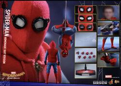 Hot Toys Mms414 - Spider-man Homecoming Homemade Suit Version Peter Parker New