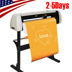 Pro 28 Plotter Machine 720mm Paper Feed Vinyl Cutter Sign Cutting With Stand Ce