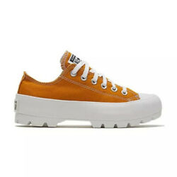 Converse All Star Seasonal Lugged Womenand039s Athletic Casual Sneaker Saffron Shoe