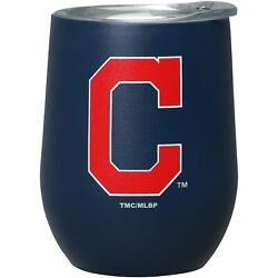 Cleveland Indians 15oz. Matte Stainless Steel Stemless Tumbler