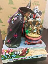 Jim Shore Wizard Of Oz Surrender Dorothy Wicked Witch 4031513 Brand New In Box