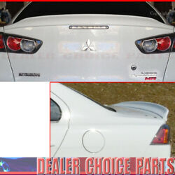 2008 2009 2010-2017 Mitsubishi Lancer Duck Style Spoiler Trunk Wing Unpainted