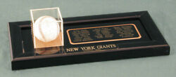 The New York Giants - Autographed Signed Baseball Circa 1950 With Co-signers