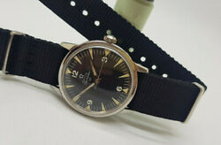 Used 1963 Omega Seamaster 30 Cal286 Black Dial Manual Wind Movement Manand039s Watch