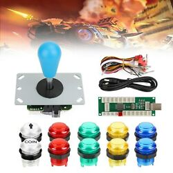 Arcade 1 Player Diy Kit 5v Led Buttons For Arcade Pc Games Mame Raspberry Pi S3