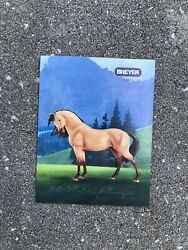 New Breyer Reeves Horse Box Catalog 2002 Spirit of the Cimarron Collection