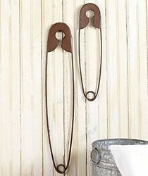 Toysdone Large Hanging Metal Safety Pins Laundry Room Wall Home Decoration ...