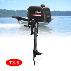 Boat Engine Motor Cdi System2 Stroke 3.5hp Manual Start Outboard Engine Fishing