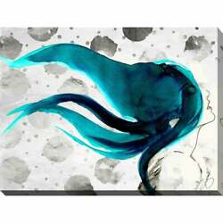 By Jodi In The Wind Giclee Stretched Canvas Wall Art Extra Large