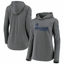 Toronto Maple Leafs Fanatics Branded Women's Authentic Pro Pullover Hoodie -