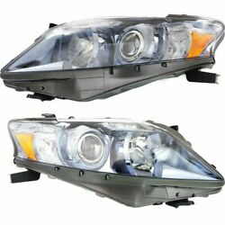 Headlight Set For 2010 2011 2012 Lexus Rx450h Left And Right Capa 2pc