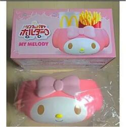 My Melody Mcdonald's Drink And Potato Holder For Car Sanrio Limited New