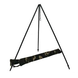 Camping Cooking Tripod Grill Folding Campfire Grill Kazan Mangal Holder Stand