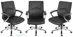Quantity Of 10 12 14 16 Ergonomic Modern Mid Back Chairs Office Conference Desk