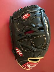 Rawlings 12and039and039 Gg Elite Series Gge1202pb Pitcher Baseball Glove -left Hand Throw