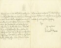 Richard Strauss - Autograph Letter Signed 06/12/1883