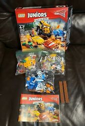 Lego 10744 Juniors Cars 3 Thunder Hollow Crazy 8 Race, 100 Complete