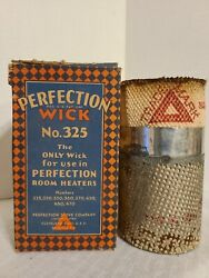 Vintage Perfection Room Heater Stove Wick No. 325 In Box