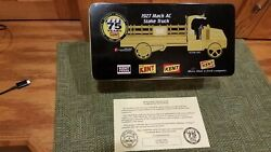 1927 Mack Ac Kent Feeds Stake Truck First Gear 24k Gold Plated 75 Years - Coa