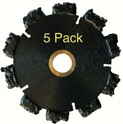 5pk 4 Fire Rescue Root Cutter Carbide Tipped Demolition Blade X .250