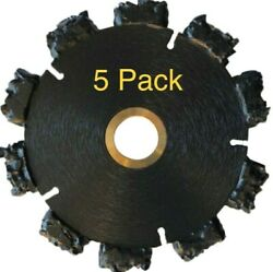 5pk 5 Fire Rescue Root Cutter Carbide Tipped Demolition Blade X .250