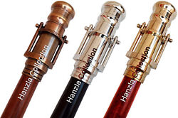 Walking Stick With Brass Telescope Set Of 3 Nautical Canes Vintage Gift Of Men